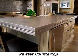 surface trends guides countertop counter top in countertops pewter metal